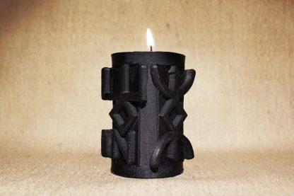 Черная руническая колонна «Очищение»