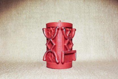 Красная руническая колонна «На привлечение любви»