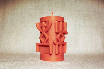 Оранжевая руническая колонна «От панических атак»