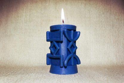 Синяя руническая колонна