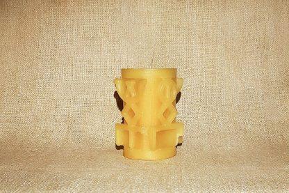 Желтая руническая колонна