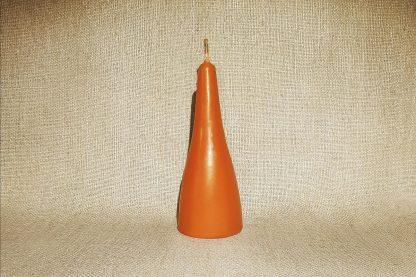 Свеча Оранжевая Пирамида