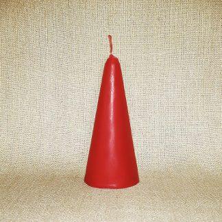 Свеча Красная Пирамида на Любовь