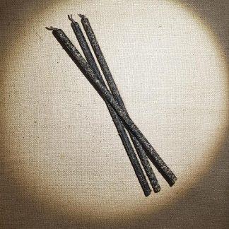 Набор свечей с полынью на Чистку с ритуалом