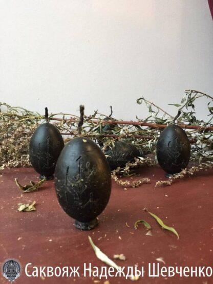Свеча-программа «Яйцо с Полынью»