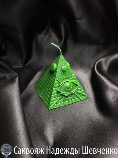 Свеча-программа «Масонское око»